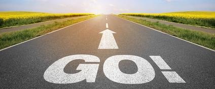 """Straße mit """" Go """""""